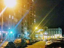 В микрорайоне Медвежья долина появилось стабильное уличное освещение