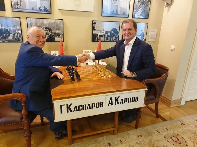 Анатолий Карпов, Андрей Симановский