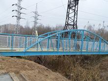 Все шесть пешеходных мостов через Левинку отремонтируют в Московском районе в этом году