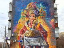 В центре Челябинска закрасили гигантское граффити. Подозревают бизнес