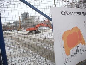 Теперь препятствий для стройки нет. Около будущей «Ледовой арены» снесли мечеть