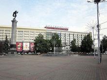 В Красноярске закроют проезды около Театральной площади