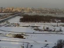 Часть стройки ледовой арены развернется на городском пляже «Наутилус»