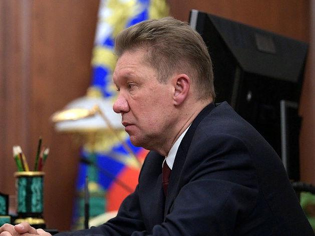 Алексей Миллер, глава «Газпрома»