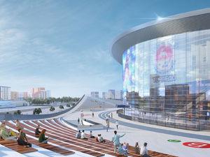 Стоимость ледовой арены на Стрелке выросла почти в два раза