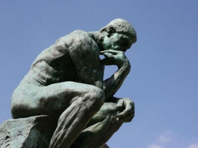 «Мыслитель» Родена