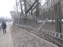 Панов справится сам. Губернатор объяснил, почему не станет чинить забор в Нижнем Новгороде