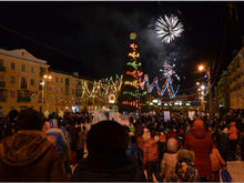 В связи с подготовкой к празднованию Нового года в Красноярске начинают перекрывать дороги