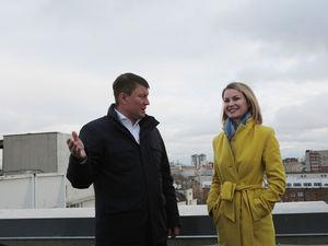Стала известна дата первой экскурсии на крышу красноярского «Биг Бена»