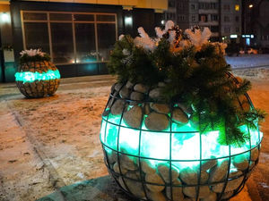 В Советском районе Красноярска установили новые арт-объекты