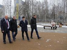 Максим Егоров открыл парк Дубки в Нижнем Новгороде