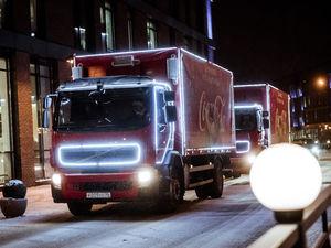 Праздник к нам приходит: в Красноярске побывает «Рождественский караван» Coca-Cola