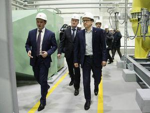 Алексей Текслер открыл кислородную станцию за 1,7 млрд рублей