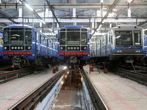 26 вагонов нижегородского метро капитально отремонтированы