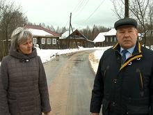 Дорогу в деревне Овсянка отремонтировали по программе поддержки местных инициатив