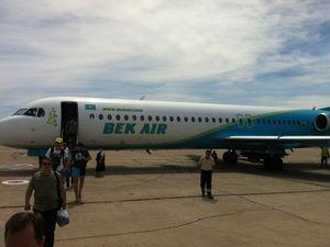 В Казахстане при вылете разбился пассажирский самолет. Есть жертвы