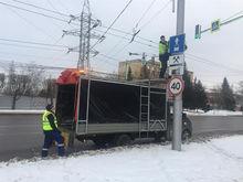 В Красноярске вводят новый режим работы выделенных полос: поможет ли?