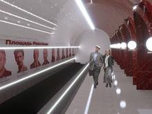 Опубликованы эскизы станций красноярского метро