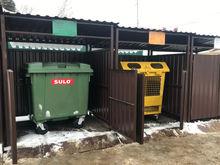 25 контейнерных площадок для раздельного сбора мусора установили в Советском районе