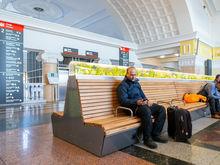 USB и подсветка: зал ожидания красноярского вокзала преобразился