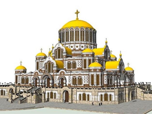 Под Екатеринбургом хотят построить самый большой в мире христианский храм