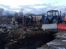 Район может остаться без воды. Крупная авария произошла на коллекторе в Нижнем Новгороде