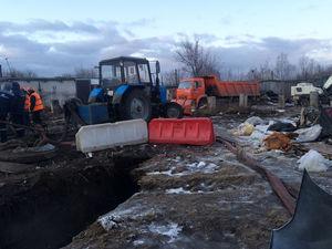 Мэрия сообщила причину аварии на канализационном коллекторе в Ленинском районе