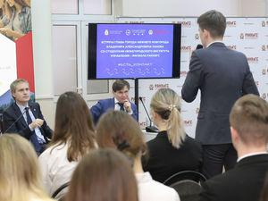 Владимир Панов открыл серию встреч с нижегородскими студентами под девизом #Есть_контакт