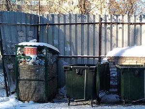 В Челябинске уберут контейнеры для раздельного сбора мусора