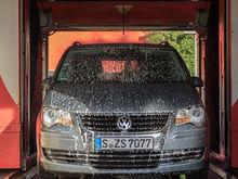 В Челябинске из-за выбросов остановили работу автомойки