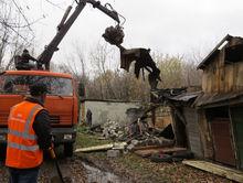 Более 600 незаконных и аварийных сараев было снесено в Нижнем Новгороде в прошлом году