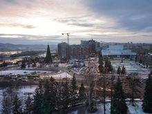 Концепцию развития Театральной площади в Красноярске выберут через конкурс