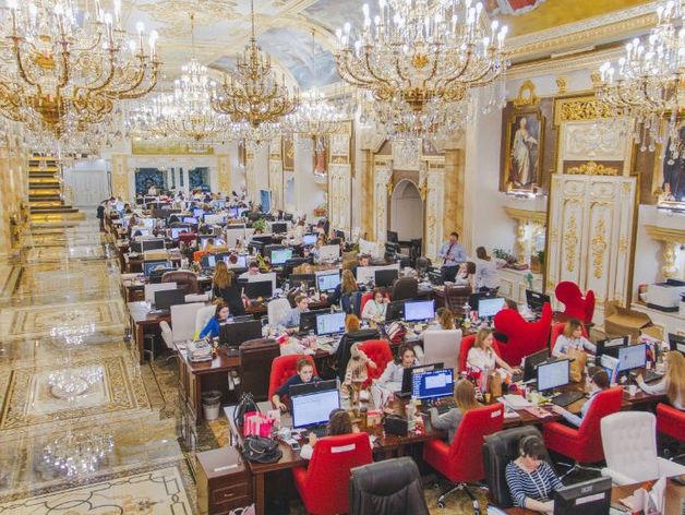 Офис компании Сима-ленд в Екатеринбурге