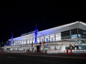 Аэропорт Красноярска временно закрыли из-за непогоды