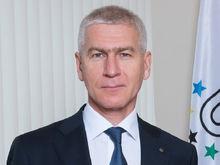 В Красноярск прилетел новый министр спорта России Олег Матыцин