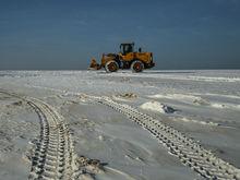 Никакого шлама, только земля и снег. Под Дзержинском ликвидировано «Белое море»
