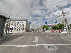 В центре Красноярска поменяют схему движения на одном из самых оживленных перекрестков