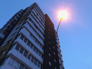 Уличное освещение в ЖК на Победной восстановлено после обращения жителей к Панову
