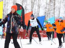 Глеб Никитин пробежал 10 км в гонке «Лыжня России»