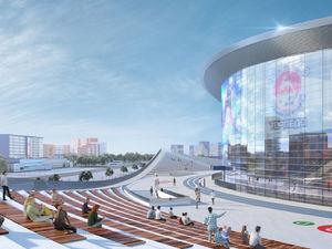 К юбилею не успеют. Ледовая арена на Стрелке будет сдана в эксплуатацию к 2023 г.