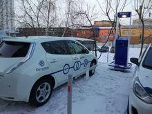 В Красноярске установили уникальную зарядную станцию для электромобилей