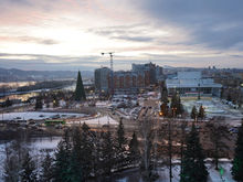 Шесть компаний представят концепцию развития Театральной площади в Красноярске