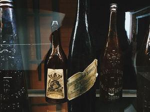 Красноярский пивовар показал коллекцию старинных бутылок
