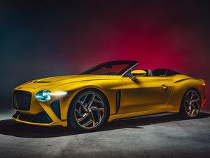 Компания Bentley представила эксклюзивный Bacalar