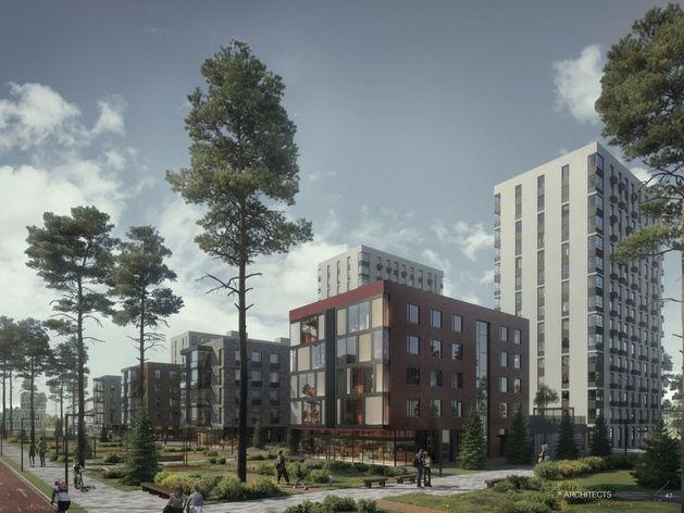 Новый ЖК будет совмещать пятиэтажки и высотную застройку