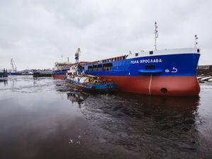 Завод «Красное Сормово» спустил на воду сухогруз «Пола Ярослава»