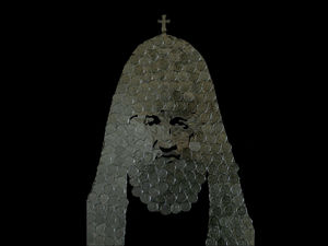 Красноярский художник создал уникальный портрет Патриарха