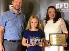 11-летняя челябинка заняла первое место на конкурсе дизайнеров в Милане