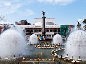 Мэрия Красноярска ищет подрядчика на обслуживание фонтанов за 35 млн рублей