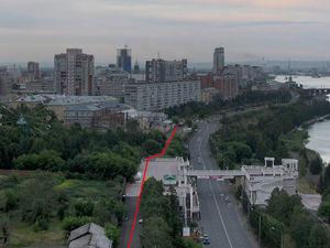 В начале апреля в центре Красноярска навсегда изменится схема движения